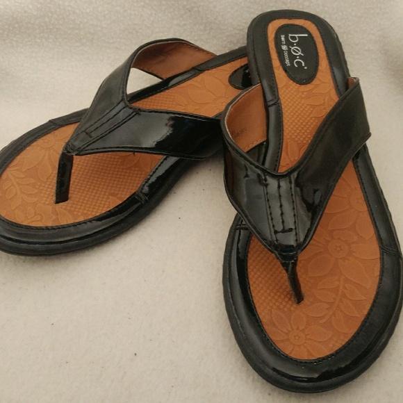 7f7c0b0f5f28 BOC Shoes - Women s boc sandal thong flip flop size 9